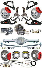 """NEW 2"""" DROP SUSPENSION & WILWOOD BRAKE SET,CURRIE REAR END,ARMS,POSI GEAR,687462"""