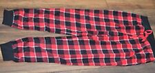 So Authentic American Heritage Super Soft Fleece Pajama Bottoms Plaid Size Med