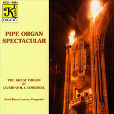 NOEL Rawsthorne/pipe organe Spectacular-Liverpool Cathedral CD Nouveau/Neuf dans sa boîte