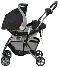 Infant Car Seat Carrier, Frame Stroller Travel Snap N Go Universal Carriage New