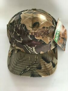 Chevy Trucks Camo Snapback Hat *NEW
