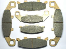 Front Rear Brake Pads For Kawasaki EX250F Ninja 250R EX 250 F 2006 2007 Brakes
