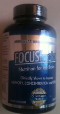 FOCUS Factor Brain Supplement Memory,Concentration & Focus, 150 Tablets NEW