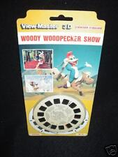 SEALED vintage View Master Foreign 3 reel set Woody Woodpecker Show Belgium RARE