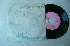 "CAT STEVENS""LADY D'ARBANVILLE-disco 45 giri ISLAND ROSA Italy 1970"""