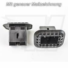 1x Plastic Bracket Clip REAR SEAT BENCH BACK SEAT VW GOLF BORA CC POLO PASSAT