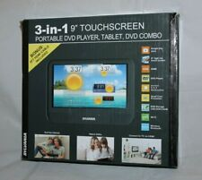 "Sylvania SLTDVD9220-C 3-in-1 9"" Portable DVD Player & Android Tablet"