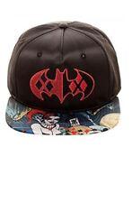 DC HARLEY QUINN SATIN Snapback Hat Cap - NEW/TAGS (458323)