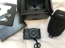 Sony DSC-RX100 Cyber-shot 20.2MP Digital Camera - Black+ EXTRA buttery and bag