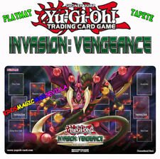 YUGIOH Playmat Sneak Peek: Invasion: Vengeance NEW - Tapete Invasión: Venganza