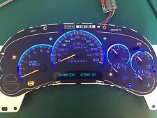 Blue LED 2006 Chevy Silverado GMС Sierra Reman Instrument Panel Cluster 47k