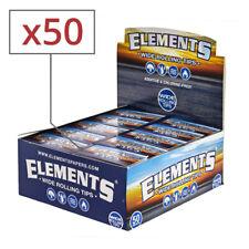 Box de 50 carnets de filtres en carton larges Elements non perforés