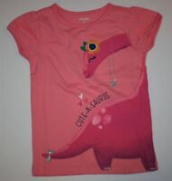 New Gymboree Pink Cute A Saurus Dino Top Tee Shirt NWT Size 18-24M 2T 3T 4T 5T