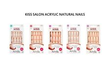 Kiss Salon Acrylic French Nude & Design Nails Choose Many Styles & Lengths