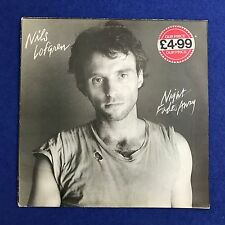NILS LOFGREN Night Fades Away 1981 UK vinyl LP EXCELLENT CONDITION
