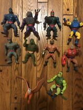 10 Vintage Masters of the Universe Action Figures MOTU 1980's Cartoon He-Man Lot