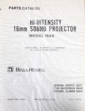 Bell   Howell Hi-Intensity 16mm Sound Projector Parts Catalog