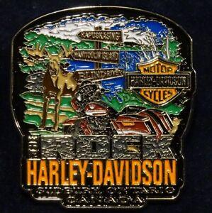 Harley Davidson Sudbury Ontario Canada PIN New Motorcycle Biker *LAST IN STOCK!*
