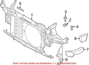 Genuine OEM Radiator Support Air Duct for Mini 51749802120