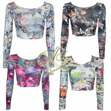 Polyester Long Sleeve Fitted Multipack Tops & Shirts for Women