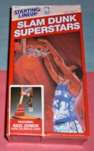 1989 MAGIC JOHNSON Los Angeles Lakers Slam Dunk NM sealed Starting Lineup low #
