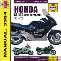 Haynes Manual  Honda ST1100 Pan European 1990-2002 3384 NEW