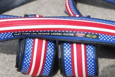 2 Pair NEW Patriot stars and stripes USA clincher cycling tires 700x23