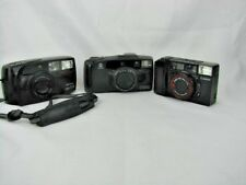 3ct Pentax Zoom 70-R,  Minolta Freedom 90C,  Cannon Sure Shot 38mm  PARTS ONLY