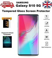 Full UV Glue Edge-to-Edge Tempered Glass Screen Protector for Samsung S10 5G