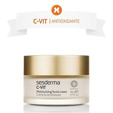 SESDERMA C-VIT Moisturizing Facial Cream NanoTech Dry Skin Anti Aging Photoaging