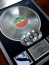 LED ZEPPELIN I DEBUT LP MULTI PLATINUM DISC RECORD AWARD ALBUM
