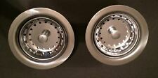 Mobile Home Plumbing Kitchen Stainless Steel Duo Basket Strainer (2 Pack)