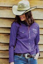 Wrangler Long Sleeve Button Down Shirts for Women