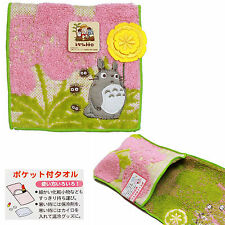 Studio Ghibli Pocket Towel Porta Oggetti in Spugna Porta Trucchi Rosa Nibariki