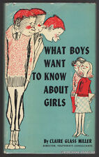 Claire Glass Miller - What Boys Want to Know About Girls, children's literature
