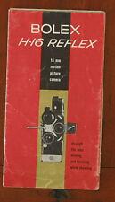 BOLEX H-16 REFLEX SALES BROCHURE/60945