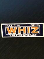 Vintage Collectible Take a Whiz Drink Colorful Metal Pinback Lapel Pin Hat Pin