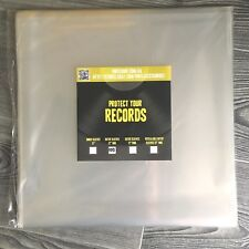 "Outer vinyl record plastic cover sleeves 12inch"" LP - 100 pieces"