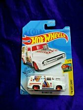 Hot Wheels '56 Ford F-100 HW Art Cars #1/10 Die-Cast 1:64 Scale Queen Of Hearts