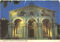 B48372 Jerusalem the Church of Gethsemane at night israel