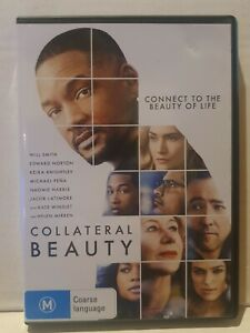 COLLATERAL BEAUTY - Will Smith, Edward Norton -   DVD like new