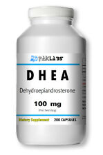 DHEA 100mg 200 Capsules 3 Month Supply Diet Supplement Antioxidant FAST SHIPPING