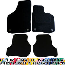 For Skoda Octavia MK2 2008-2012 Fully Tailored 4 Piece Car Mat Set with 4 Clips