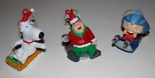 Family Guy Christmas Ornaments Peter, Stewie, and Brian 2008 Fox - 3 Total