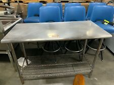 Kitchen Stainless Steel 24x49.5 Inch Work Prep Table