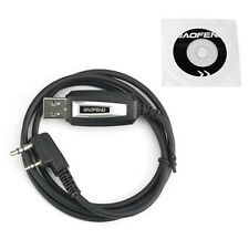 USB Programming Cable for Baofeng UV-5R BF-888S BF-F8+ Two Way Radio & Driver CD