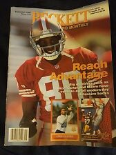 Beckett Monthly Sept 1996 Issue #78, Jerry Rice Front, Carl Pickens Back