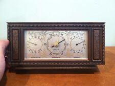 Vintage Airguide Instrument Company Desktop Barometer Weather Station 1973