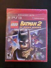 LEGO Batman 2 DC Super Heroes (Sony PlayStation 3, PS3) Brand New