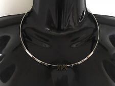 XXX Collar Solid Neck Band Necklace Jewellery Jewelry Slut Sexy Pornstar Bronze